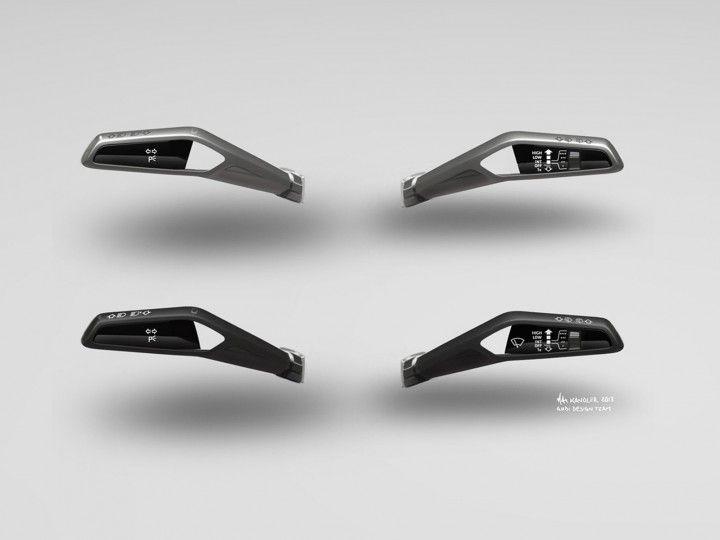 Audi Sport Quattro Concept Innenarchitektur Skizze Lenkradbedienung Interior Design Sketch Concept Car Interior Audi