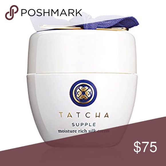 NEW TATCHA Supple Moisture Rich Silk Cream! 1.86oz This is a brand new in box, fresh, 100% authentic TATCHA Supple Moisture Rich Silk Cream in the Full Size 1.86 fl.oz.!  This retailed for $150.00.    The silk cream is a luxurious, yet weightless-feeling gel cream formulated with squalane, royal jelly, and an antiaging complex. It offers hydration and antiaging benefits without heavy oils. Skin is left feeling silky soft; doubles as a primer for makeup. TATCHA Other