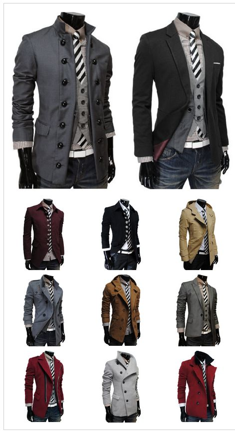 #Jackets for #men. Which would you wear?