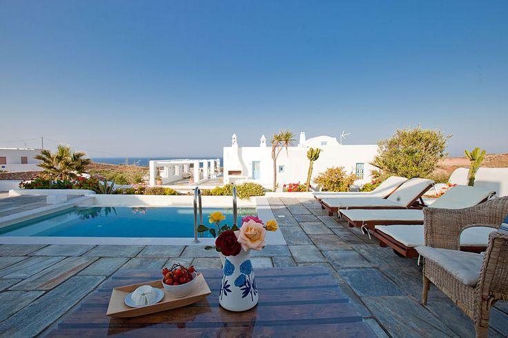 Skiron Villa Pool