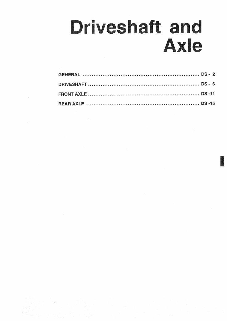 Hyundai Matrix 2001 Workshop Manual PDF