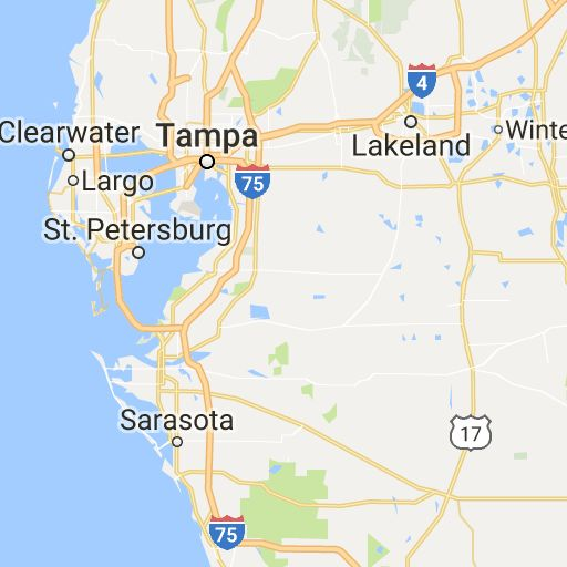 Tampa, FL Towns and Places within a 50 Mile Radius of Tampa Showing 41 Places