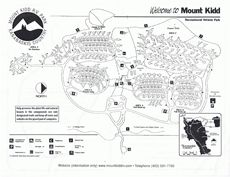 MOUNT KIDD RV PARK MAP 5 hour drive but GORGEOUS loved camping here