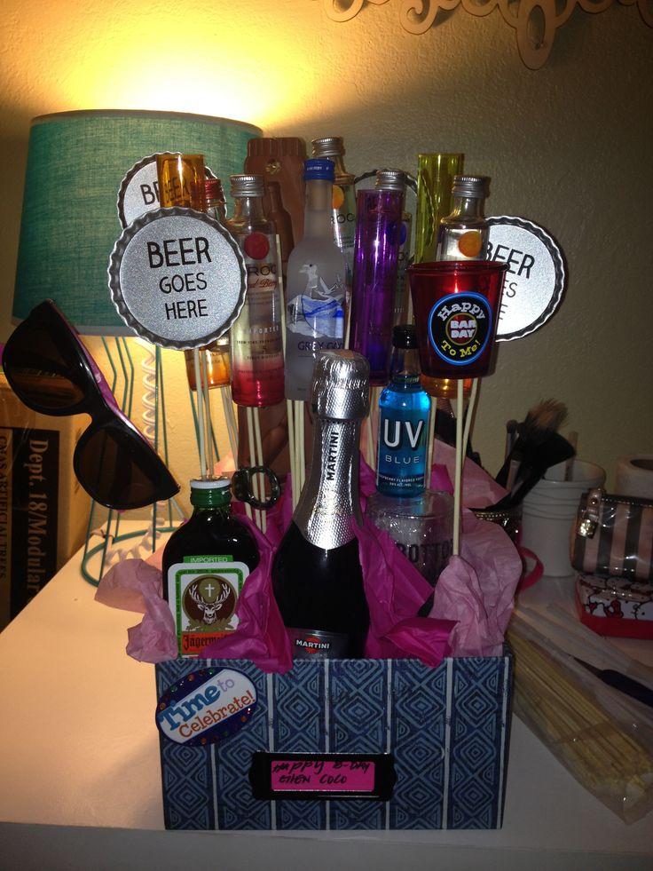 diy birthday gift basket