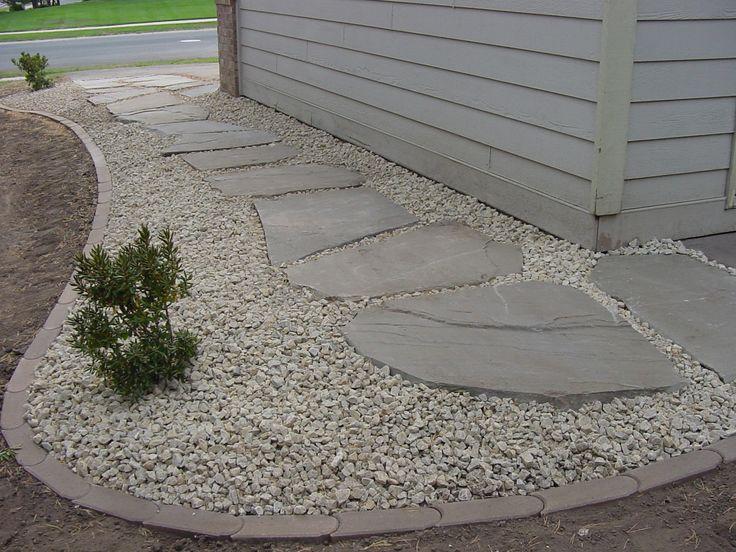 best 25+ landscape edging stone ideas on pinterest | landscape ... - Patio Border Ideas