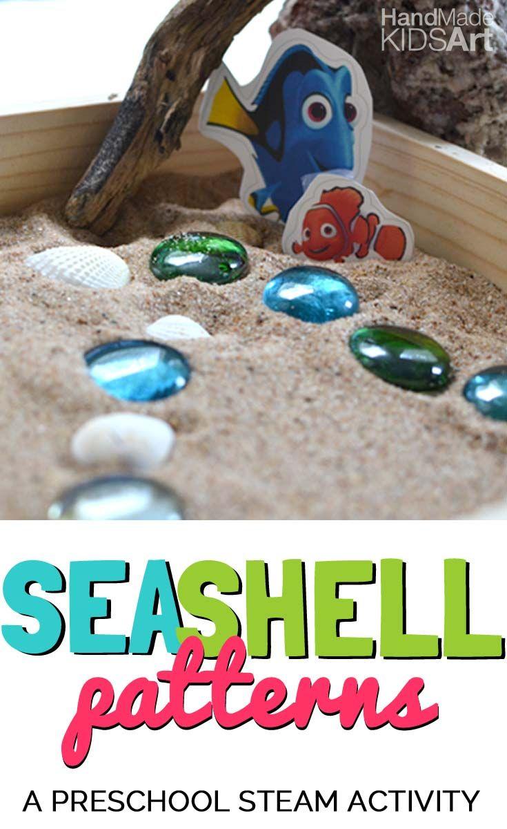 Seashell Patterns   Craft activities for kids, Preschool ...