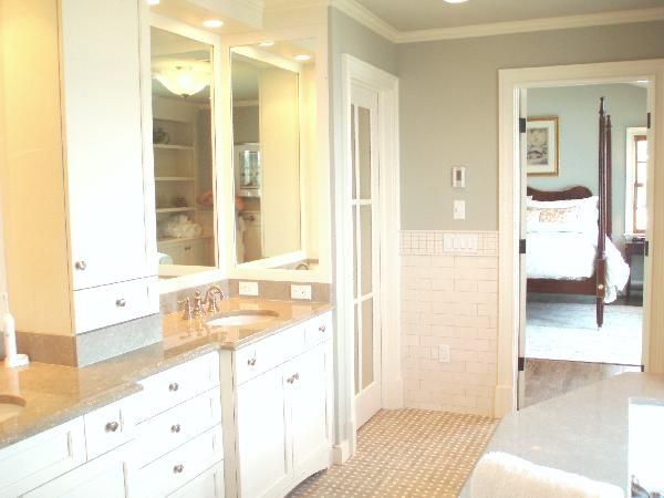 Picture Gallery Website Benjamin Moore Paris Rain new bathroom color