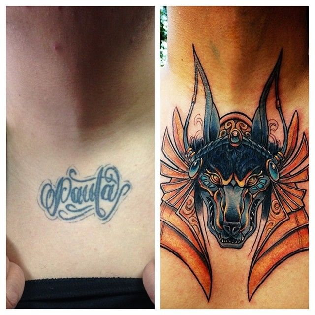 Progress on neck cover up by Rowell Alfelor