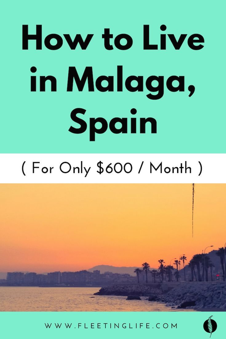 How Much Money To Live In Spain