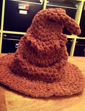 Il Cappello Parlante di Harry Potter - free pattern