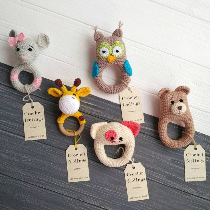 13 отметок «Нравится», 4 комментариев — ВЯЗАНЫЕ ИГРУШКИ УКРАИНА (@crochetfeelings) в Instagram: «Ці новенькі брязкальцяч, ручної роботи, вже можна придбати в магазині дитячих іграшок (напроти…»