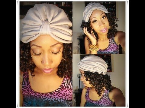 So obsessed with this #DIY Turban tutorial. So easy with step-by-step instructions and the end result is extremely cute. I'm making a bunch of these! #Turban