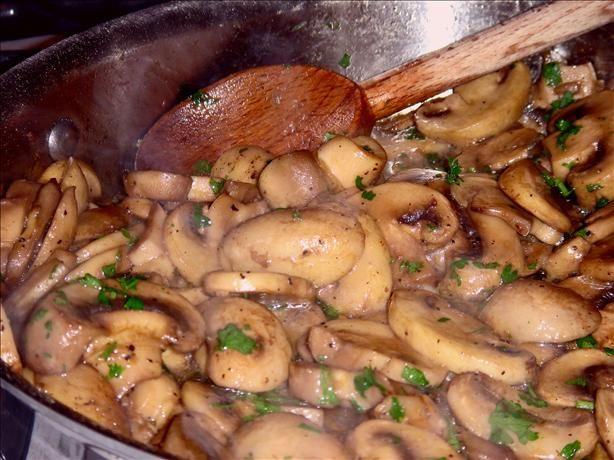 Aromatic Stewed Mushrooms