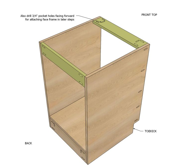 how to build base cabinets for garage