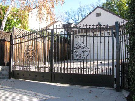 Wrought Iron & Steel Custom Driveway Gates