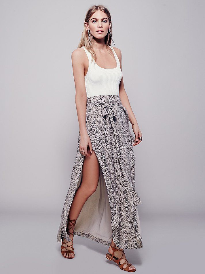 Free People Remember Me Maxi Skirt, £108.00