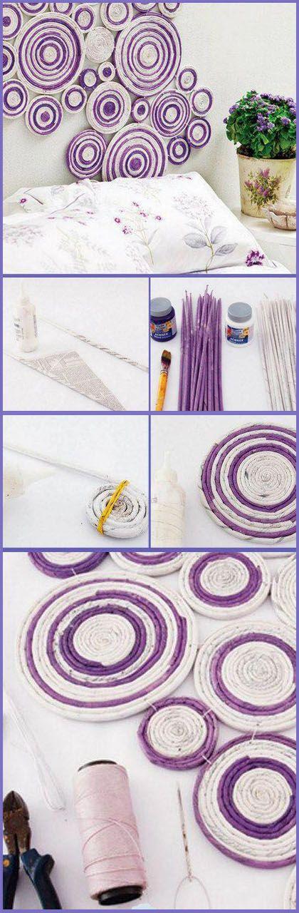 cool wall art idea diy crafts tutorials - Cool Wall Decor