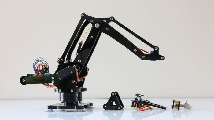 Put a robot arm on your desk.