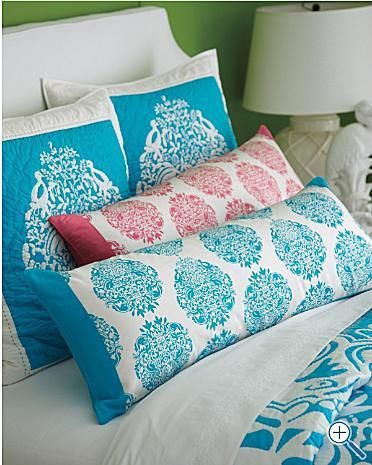 lilly pulitzer treasure chest silk pillows