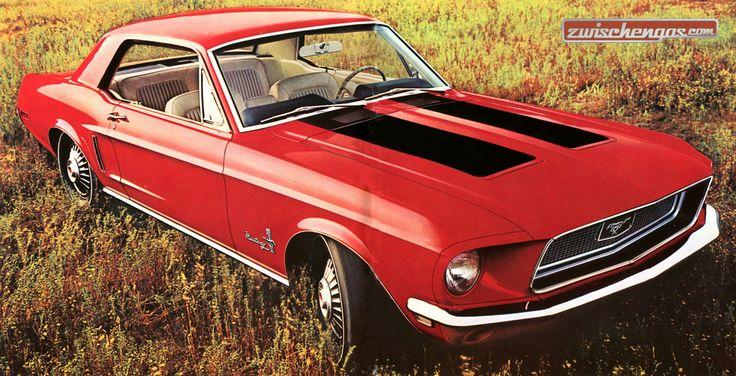 Der Ford Mustang ist vermutlich der bekannteste amerikanische Sportwagen, obschon er eigentlich gar kein Sportwagen ist: http://www.zwischengas.com/de/FT/fahrzeugberichte/Das-Auf-und-Ab-beim-Ford-Mustang-ueber-sechs-Generationenwechsel.html?utm_content=bufferb9296&utm_medium=social&utm_source=pinterest.com&utm_campaign=buffer  Foto © Zwischengas Archiv