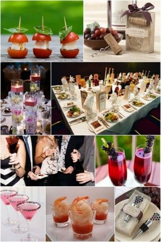 Holiday Cocktail Party Ideas: hotref.com blog #cocktail