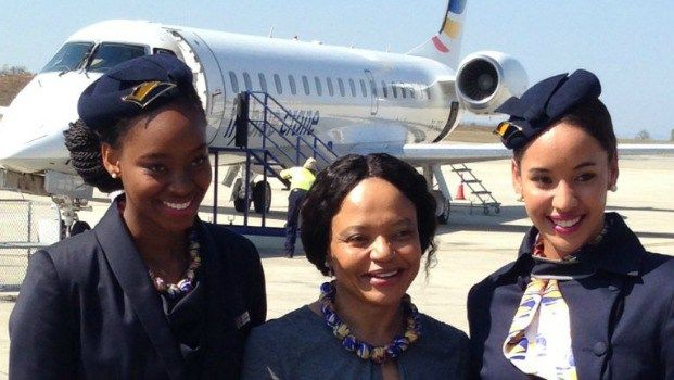 South Africa's first female-owned airline gets the OK to go international Some feel-good South African news. http://www.thesouthafrican.com/south-africas-first-female-owned-airline-gets-the-ok-to-go-international/