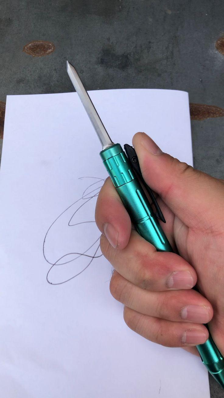 Tactical Pen OTF Pocket Knife