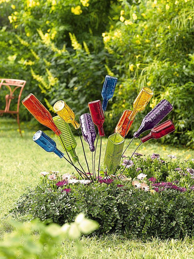 Bottle Bush: A Small Bottle Tree   Yard Art   Gardener's Supply