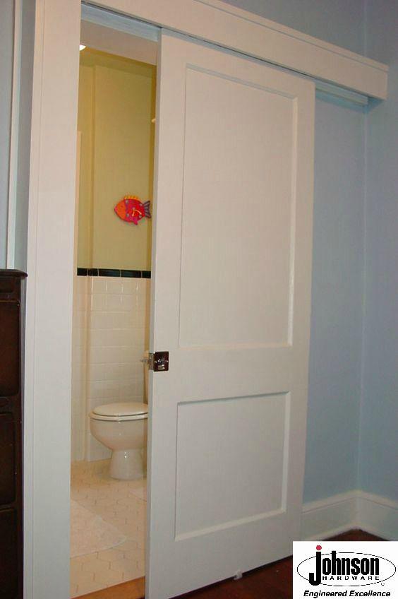 Barn Doors/Pocket Doors JOHNSON HARDWARE® IMAGE GALLERY & 31 best Show us your work! images on Pinterest | Sliding doors ...