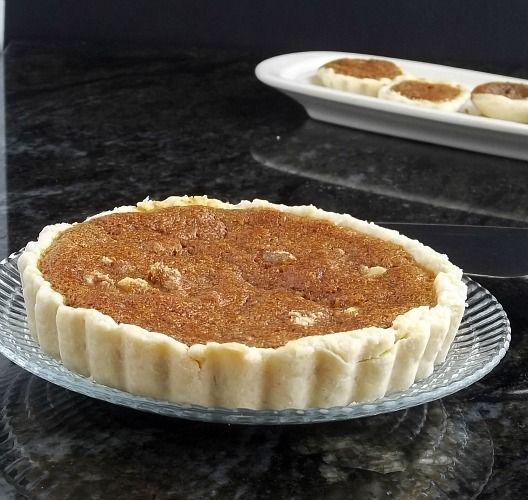 Shoo-fly Honey Tarts, made with honey and nuts