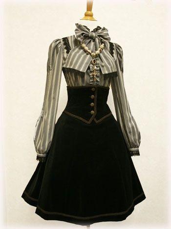 Possibility for girls' school uniform. Longer skirt, though.