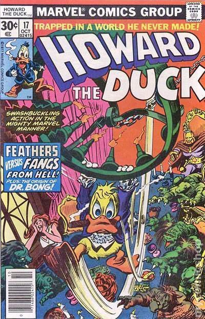 Howard The Duck Comic Books | Howard the Duck (1976 1st Series) Mark Jeweler comic books