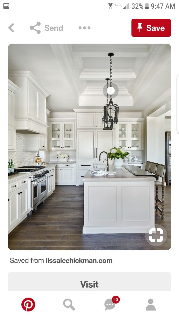 24 best CELEBRITY KITCHENS images on Pinterest | Celebrity kitchens ...