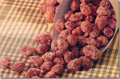 Receita de amendoim açucarado crocante