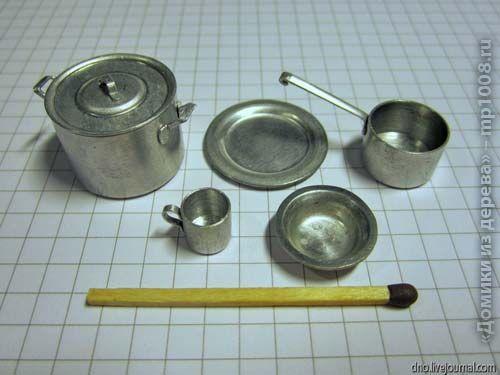 Tutorial:Cómo hacer menaje de cocina en miniatura