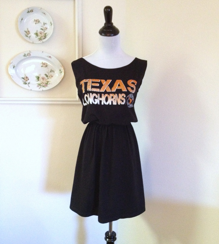 University of Texas UT Longhorns Game Day T Shirt Tee Dress - This is mine! :)
