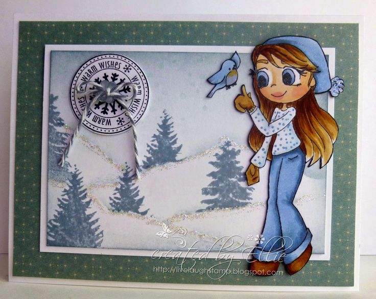 My Creative Moments: Whimsy Stamps - Holidays 2014 Part 2 Release Whimsy product list: Christmas Robin, Christmas Scene Builder, Snowflake mini letter seals