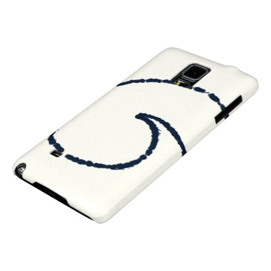 Minimalistic Blue Spiral Barely There Case  design by Charles Bridge 7x  #spiral#phonecase#samsunggalaxznote4