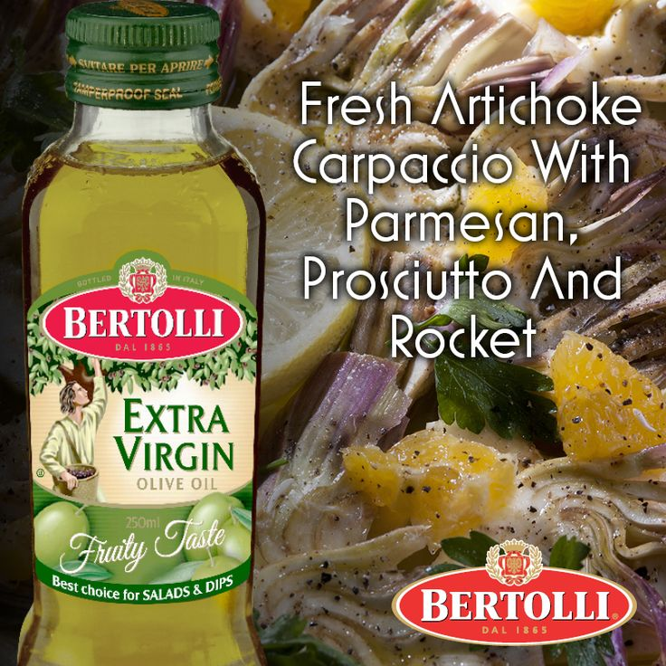 April is the beginning of artichoke season in Italy, with many dedicated food events 'springing' up in Southern Italy. Savour the taste sensation for yourself with this wonderful #recipe for artichoke carpaccio, augmented by Bertolli Extra Virgin Oil http://www.cookingwitholiveoil.com.au/fresh-artichoke-carp…/