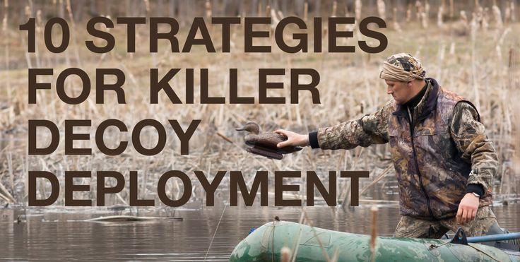 Top 10 Strategies for Killer Decoy Spread Deployment | GunnHook.com