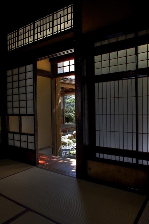 Kanazawa  Japan / Nomura-ke (samurai-house) shadow  野村家(武家屋敷) 影