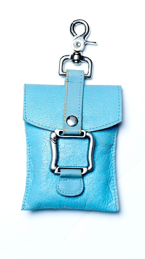 Pouch - Blue by Anat Marin. Want.: Cell Phones Keys Chains, Idea, Clothing Shoes Pur Accessories, Color, Cell Phones Pouch, Fashion Women Fal, Misty Blue, Anatmarin, Blue Cell