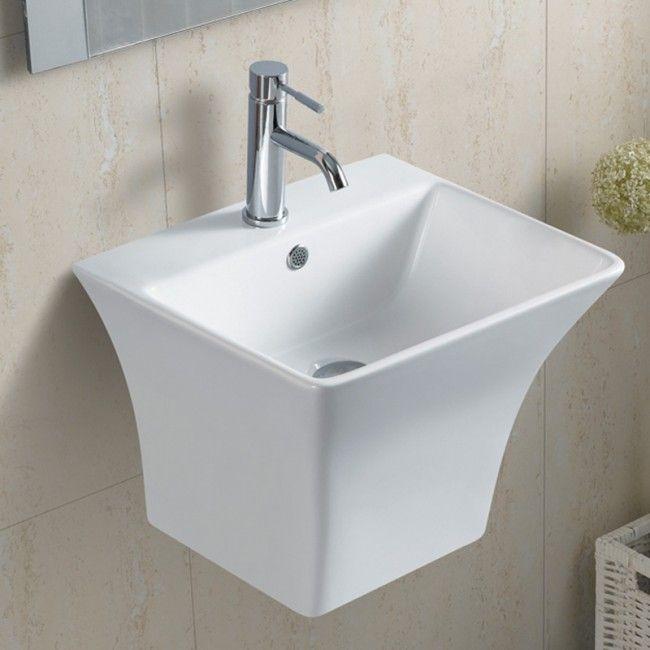 Masiven Porcelanov Umivalnik Ares Retangolo Sink Decor Home