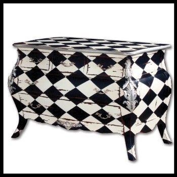 Checkered Painted Furniture