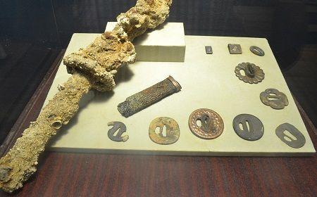 Sword-artifacts-of-Japanese-mercenaries-on-San-Diego.