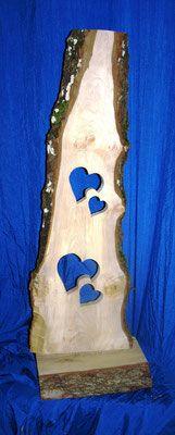 Holzbretter / Holz stehlen, geeignet für den Innen- und Aussenbereich – Barbara Bien-Leopold