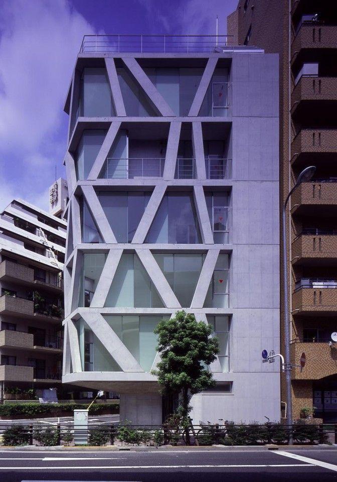 Towered Flats   Kita-ku, Tokyo, Japan   Milligram Architectural Studio