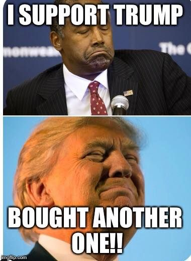 'You sold out': Ben Carson hears it from conservatives not happy with Trump endorsement http://twitchy.com/2016/03/11/you-sold-out-ben-carson-hears-it-from-conservatives-not-happy-with-trump-endorsement/ #NeverTrump