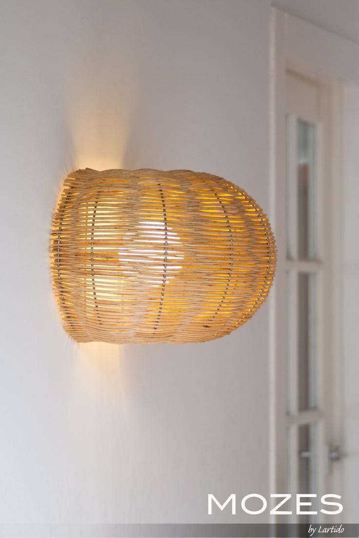 Mozes - Mozes-Wall - light - eco - design - dutch - willow-twigs - lamp - inside and outdoors - by Lartido.com