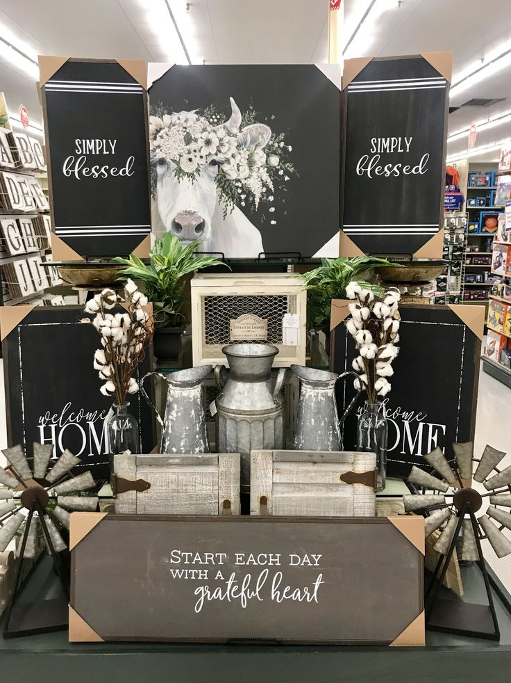 Hobby Lobby Merchandising Tisch zeigt Arbeit / Kv – Home